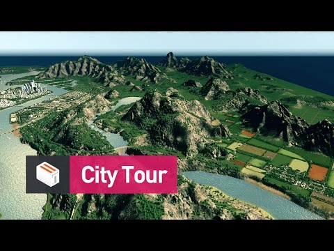 Let's Design Cities Skylines - Cedar Valley: City Tour