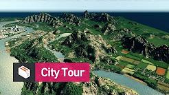 Let's Design Cities Skylines - Cedar Valley: City Tour