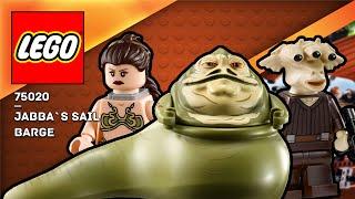 LEGO STAR WARS - Jabba`s Sail barge (75020)