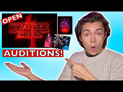 AUDITION For Stranger Things Open Call AUDITION