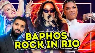 OS MAIORES BAPHOS E POLÊMICAS DO ROCK IN RIO 2019 | Diva Depressão