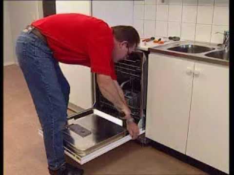 opvaskemaskine indbygning