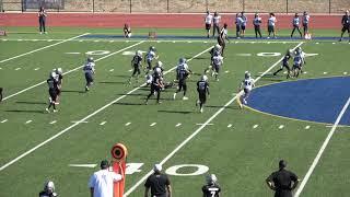 (Semi Finals) Fillmore Raiders vs Saugus Spartans (11-9-19) GCYFL Bantams National Conference