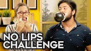 No Lips Challenge || DuckTape