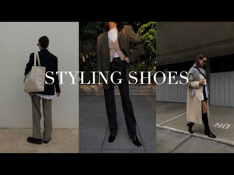 STYLING SHOES FOR EVERYDAY | 5 SHOES For Different Occasions - Converses, Doc Martens, Boots etc.