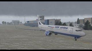 Xplane11  v. 11/30  Tst Zibo 737-800 v. (3.32)Рейс  UWWW/USSS