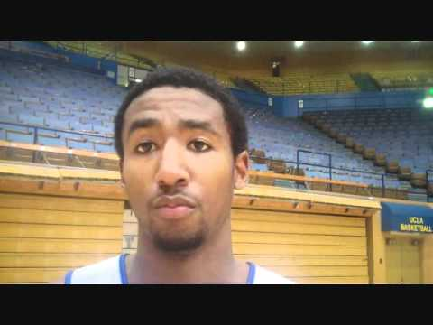 UCLA Junior SG #3 Malcolm Lee Post-Practice 10/25