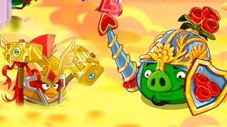 Angry Birds Epic #116 игра Мультик День святого Валентина приключение птичек Bad Piggies #КРУТИЛКИНЫ