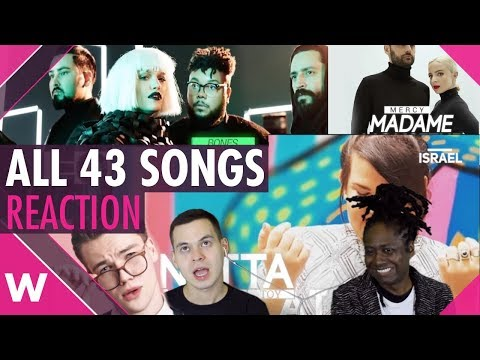 Eurovision 2018 Reaction   All songs