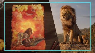 Collage Art Inspired By Disney's The Lion King | Disney Style