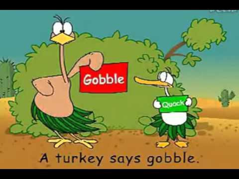 Cartoon time: Gobble gobble