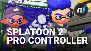 Splatoon 2 Switch Pro Controller Motion Controls Gameplay (Direct Feed)