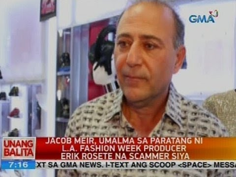 Jacor Meir, umalma sa paratang ni L.A. fashion week producer Erik Rosete na scammer siya