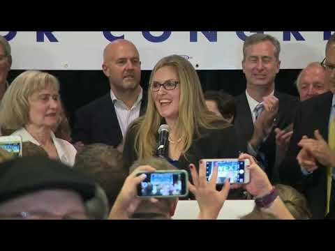 'We demand a better nation,' says Jennifer Wexton after unseating a Virginia Republican