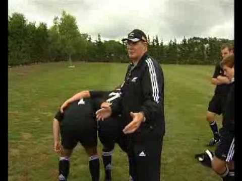 Rugby Coaching - Scrum - Lock Head