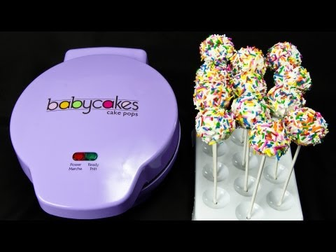 Making Cake Pops with The Babycakes Cake Pop Maker by Cookies Cupcakes and Cardio