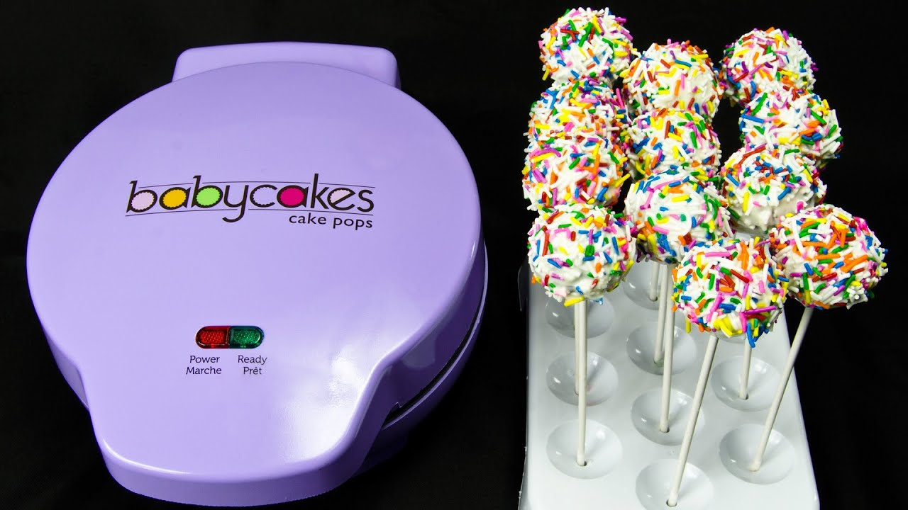 Brownie Cake Pops In Cake Pop Maker