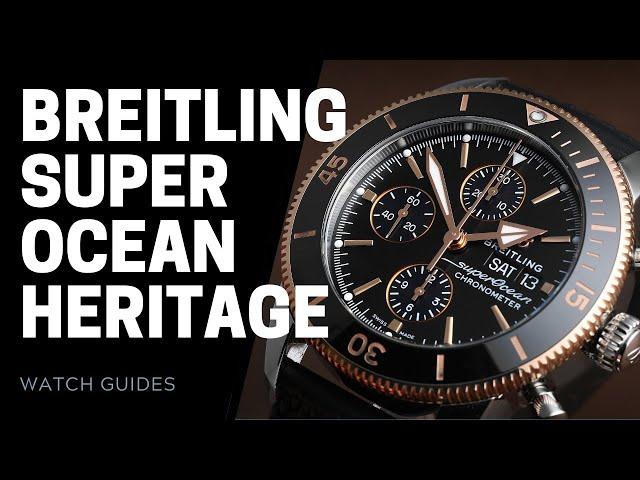 Breitling Superocean Heritage vs Superocean Heritage II   SwissWatchExpo