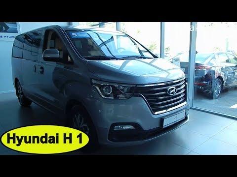Hyundai H 1 2.5 AT Business экстерьер , интерьер минивэн для семьи и бизнеса