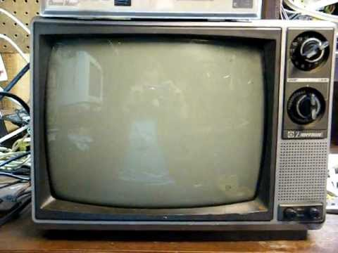 1988 Emerson 12 Quot B Amp W Tv Youtube