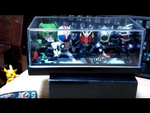 Capsule Toy Collection - Kamen Rider BLACK series
