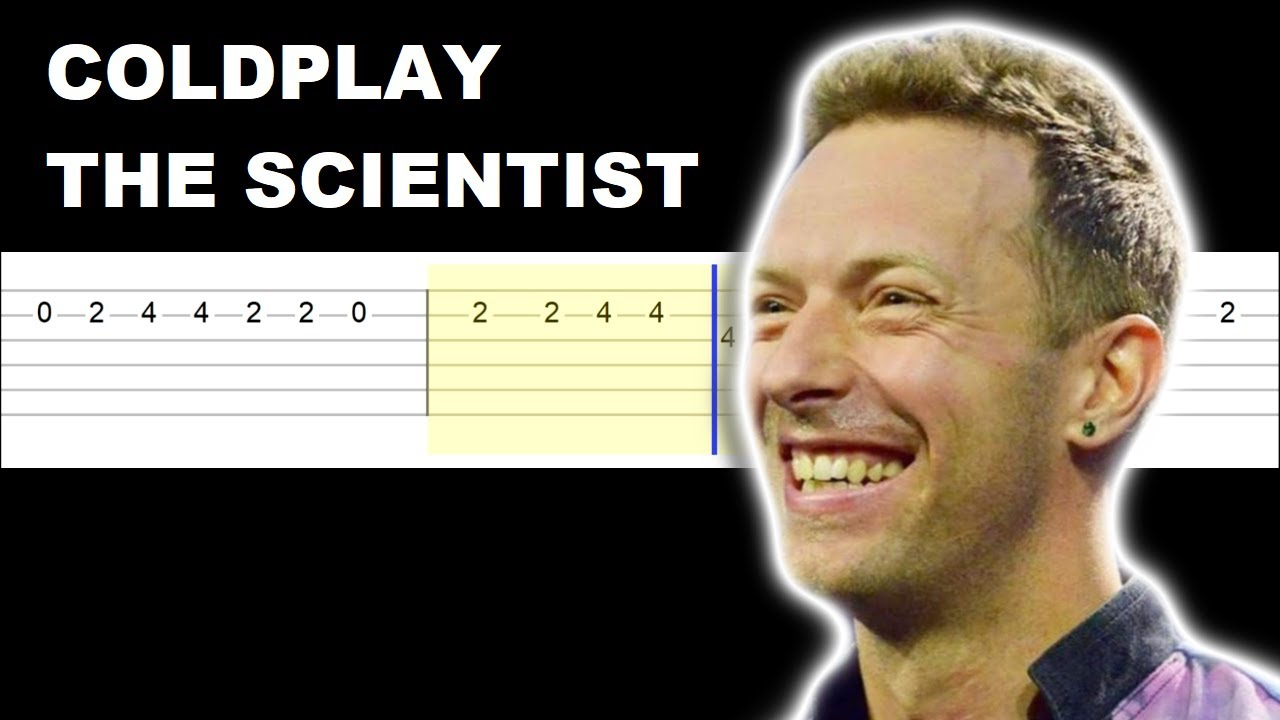 Coldplay - The Scientist (Easy Guitar Tabs Tutorial)