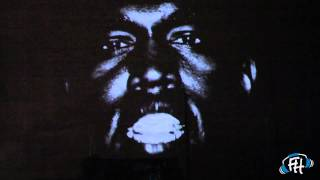 """Kanye West - """"New Slaves"""" Projection in NYC"""