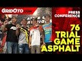 Press Conference 76 Trial Game Asphalt di Senayan City
