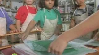 Sesame Street Papermaking Video