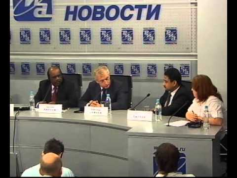 Press Conference by Dr. AS Pillai, CEO & MD, BrahMos Aerospace organised by RIA Novosti