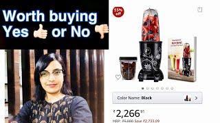 Wonderchef Nutri Blend Review हिन्दी में | LPriya Vlogz| #WonderchefNutriblend #kitchenproductreview