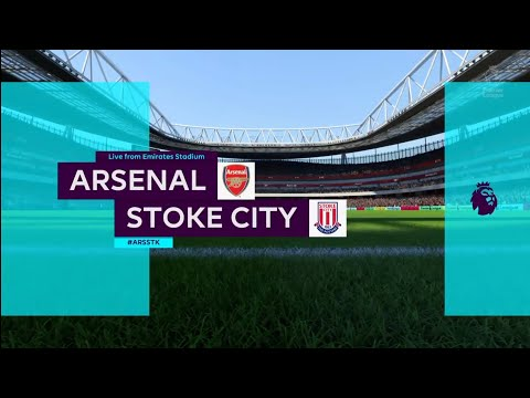 FIFA 18 | Premier League | Arsenal v Stoke City | Emirates Stadium