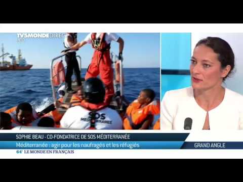 Giuseppina Nicolini & Sophie Beau : agir pour les naufragés et les réfugiés de la Méditerranée