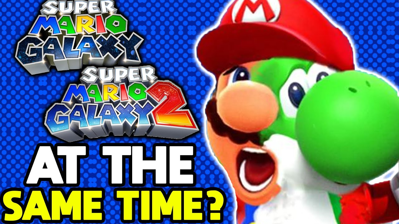 Can you Beat Super Mario Galaxy and Super Mario Galaxy 2 at the Same Time?