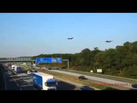 Смешные видео  Приколы  За 40 секунд 6 самолетов