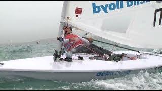 Day 4 - Sail for Gold Regatta - Xu Meech Murphy Nick Thompson GBR IRL CHN Laser Radial