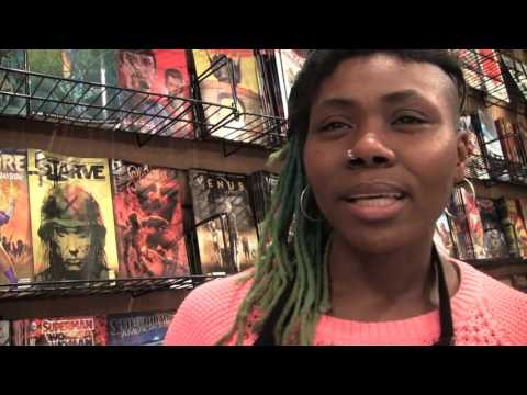 AMALGAM COMICS and COFFEEHOUSE {scrapple.tv}