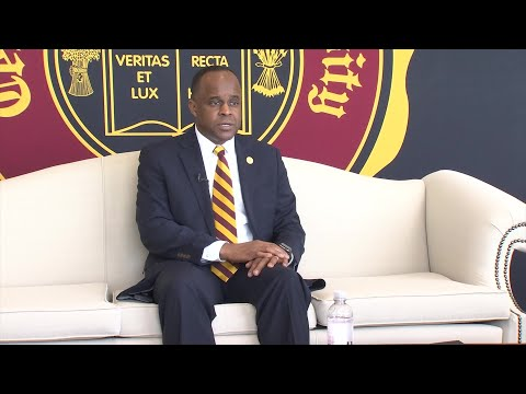 Central State University welcomes new president