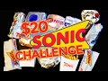 SONIC $20 VALUE MENU CHALLENGE!!