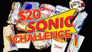 Video SONIC $20 VALUE MENU CHALLENGE!! download MP3, 3GP, MP4, WEBM, AVI, FLV Juli 2018