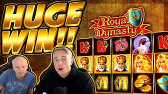HUGE WIN!!! Royal dynasty BIG WIN - Casino game from CasinoDaddy Live Stream