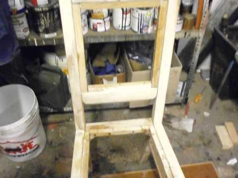 Progetto Sedia A Dondolo.Come Costruire Una Sedia Da Un Unico Pannello Di Legno Fai Da Te