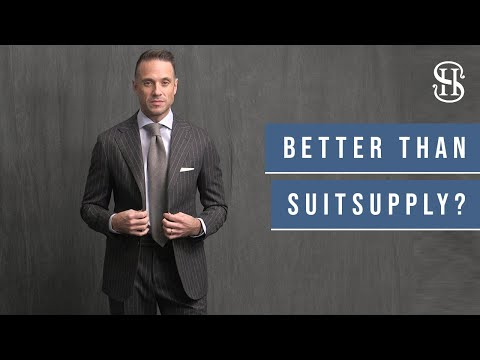 Better Than Suitsupply? Pini Parma Review & Suit Try On Haul
