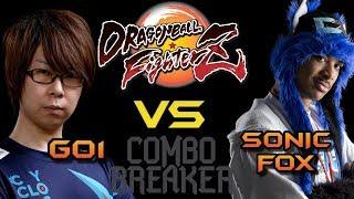 Merece la pena vivir para ver esto!! SonicFox VS Go1: GRAND FINAL (COMBO BREAKER EN ESPAÑOL) DBFZ