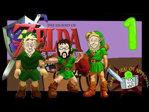 3 Players 1 Controller Ocarina of Time - Episode 1: Link Seems Kind Of Weird Today - 3MAALP