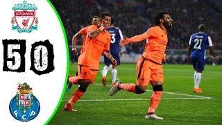 Porto vs Liverpool 0-5