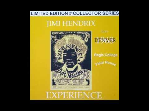 Jimi Hendrix : Denver, CO {14 02 1968)