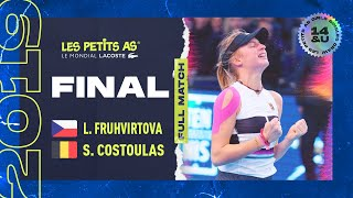 Fruhvirtova Vs Costoulas   Les Petits As  2019   Centre Court  Final