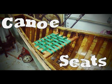 Cedar Plank Canoe Restoration - Ep11:  Seats