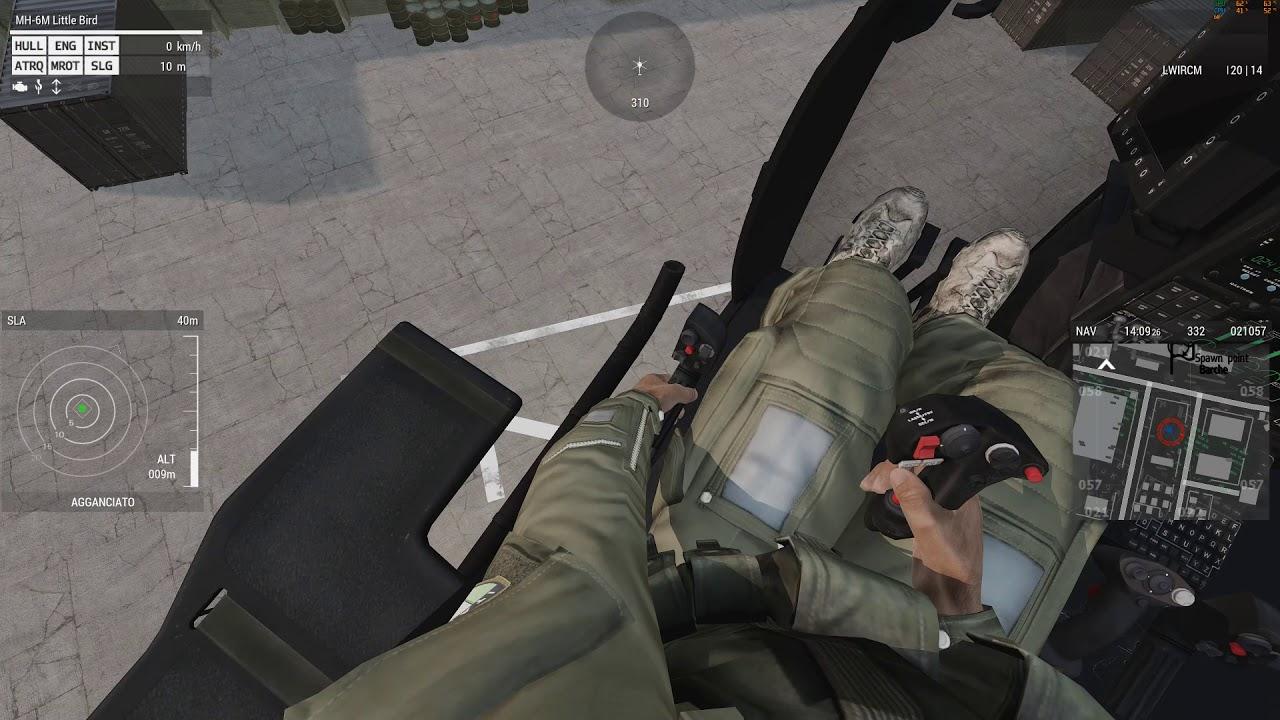 Km H Elicottero : Antincendio elicottero alla base operativa della protezione